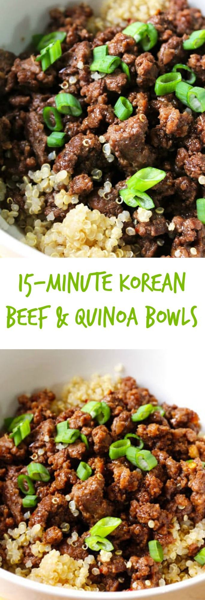 Photo of 15-Minute Quinoa and Korean Beef Bowl – Smile Sandwich
