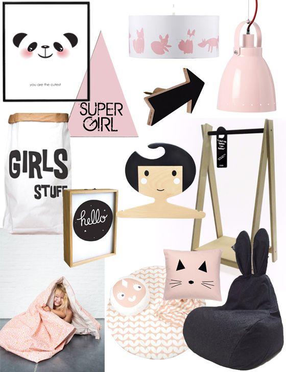 hippe accessoires meisjeskamer kinderkamer accessoires