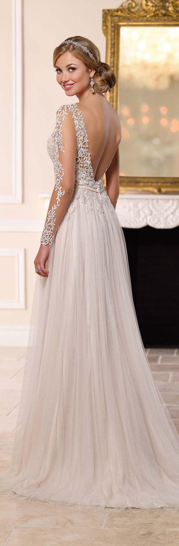 Colección de vestidos de novia stella york primavera