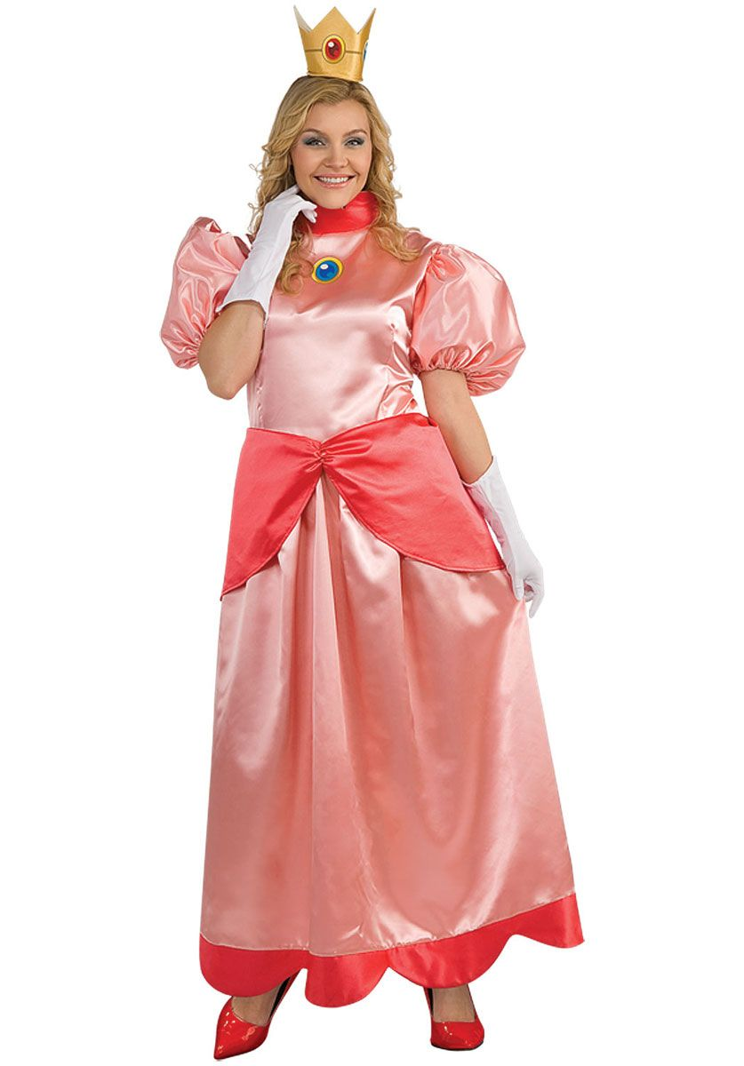 Pink Princess Costume | halloween in 2019 | Peach costume ...
