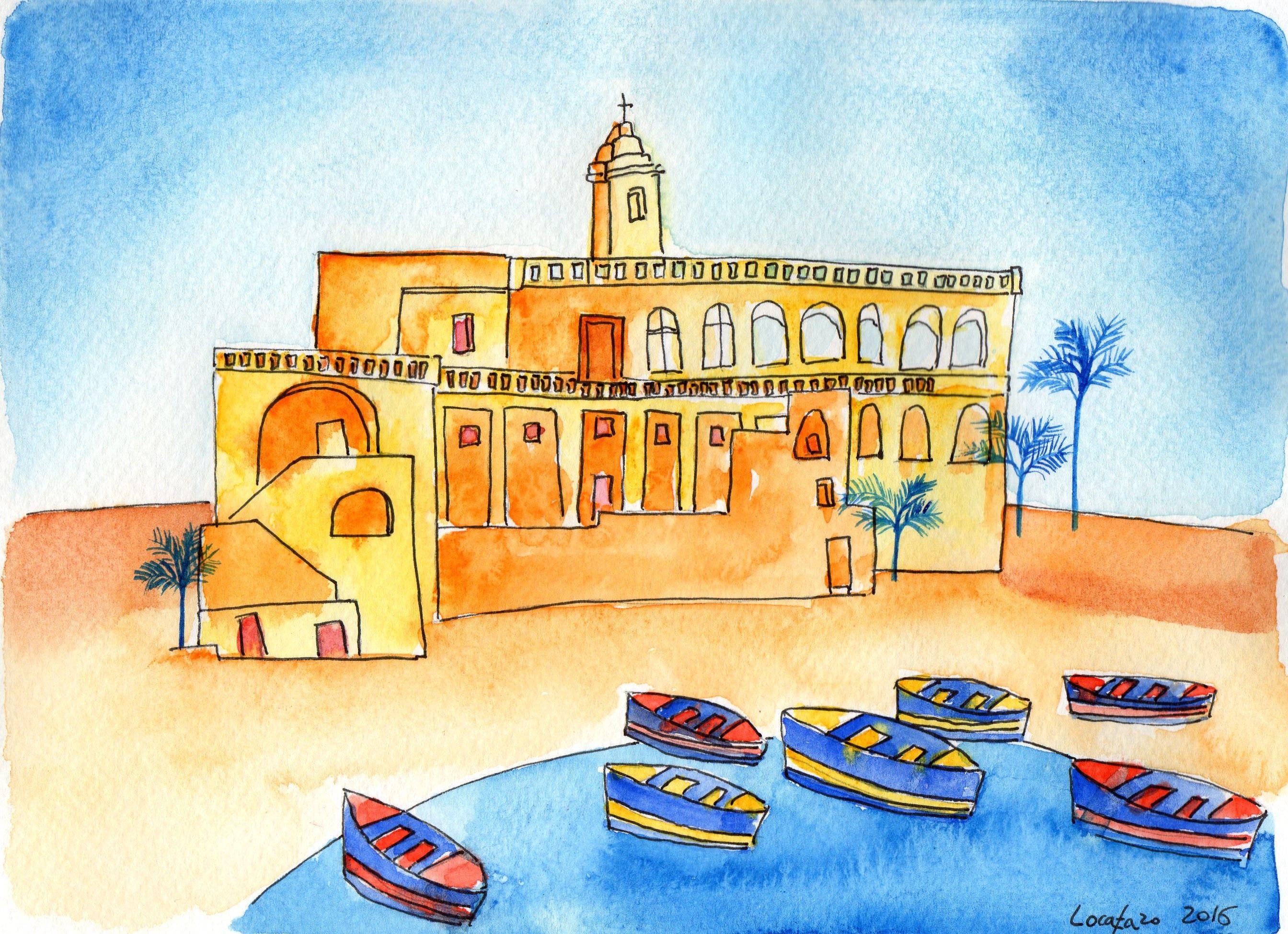 dal mare all'abbazia  di san Vito