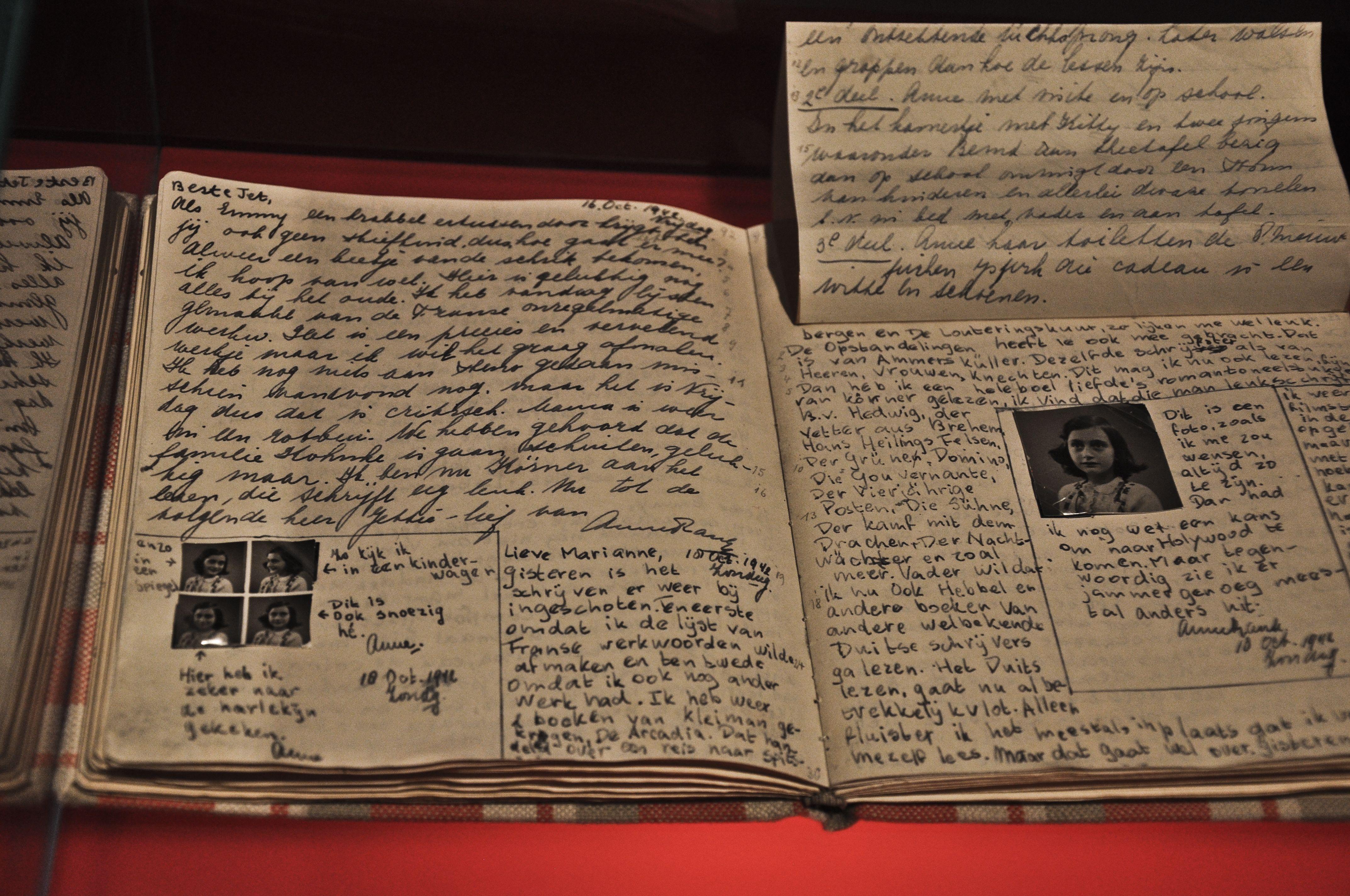 "Annelies ""Anne"" Marie Frank (06/12/192903/1945) The"
