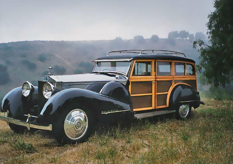 Old Money has a car 1933 ROLLS-ROYCE PHANTOM II WOODY ...