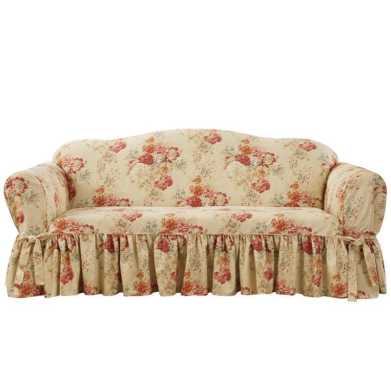Ballad Box Cushion Sofa Slipcover With