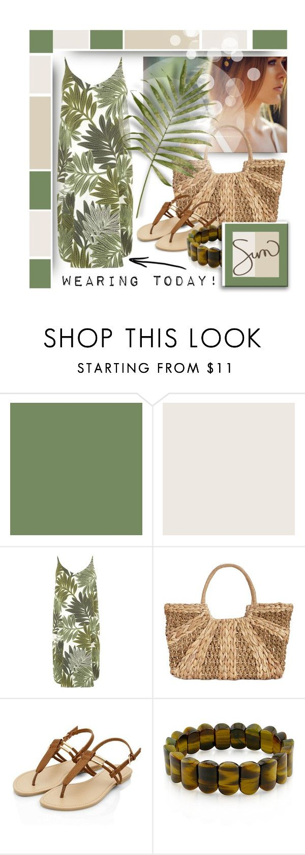 """My Dress Today :)"" by think-about-it ❤ liked on Polyvore featuring Benjamin Moore, Marni, Topshop, Straw Studios and Ice"