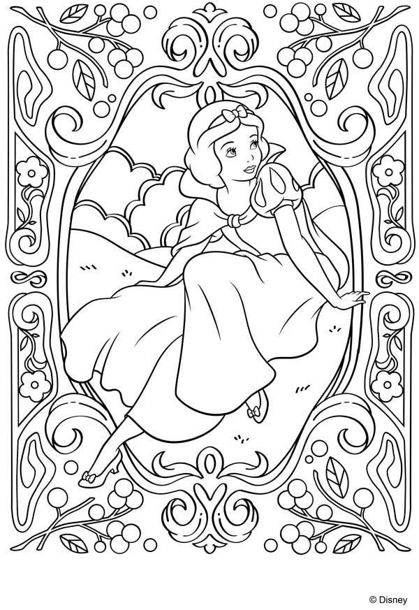 Dibujos para colorear de las princesas Disney | Dibujos para ...