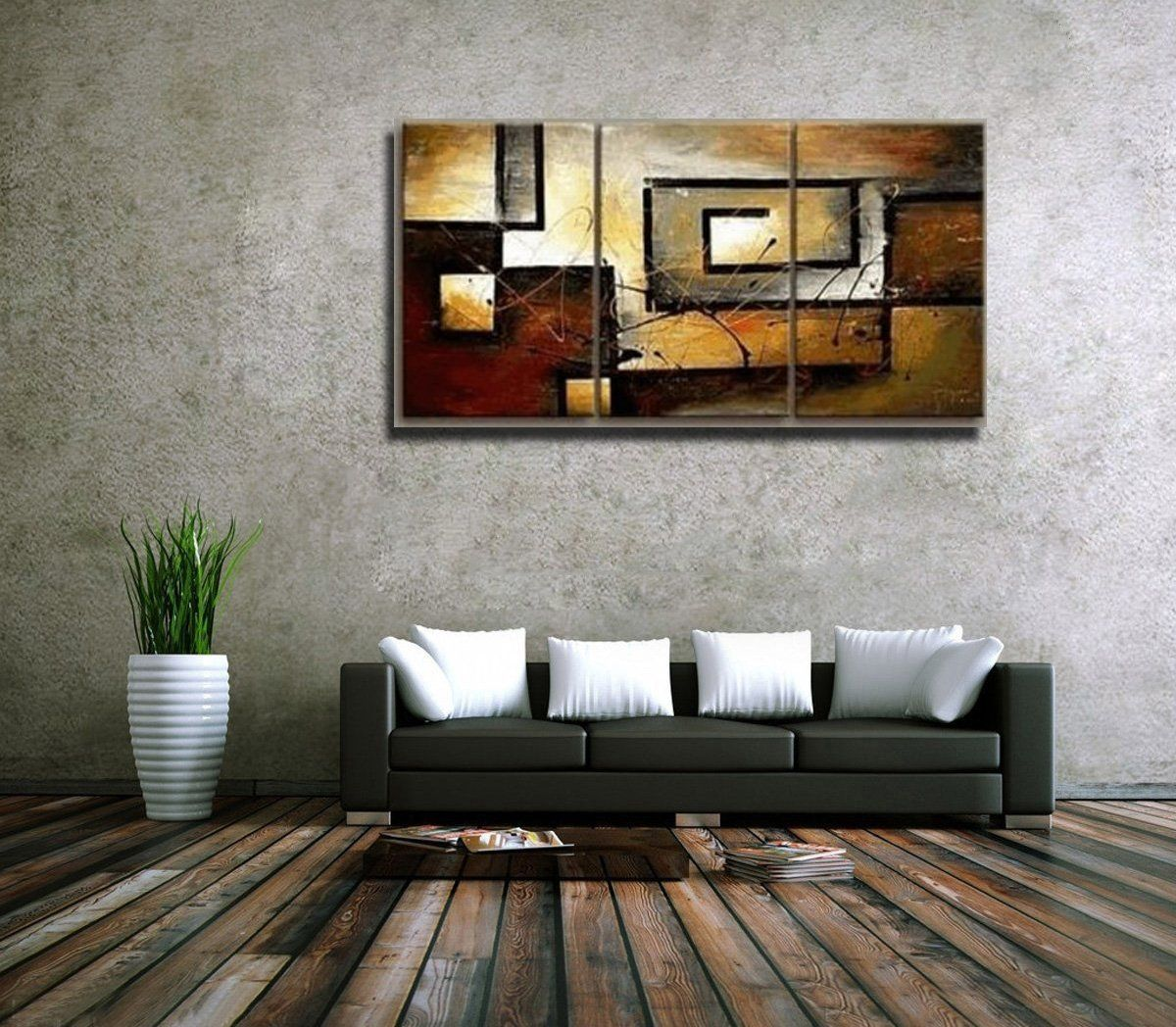Amazon Mon Art 100 Hand Painted Oil Painting Abstract Large Modern