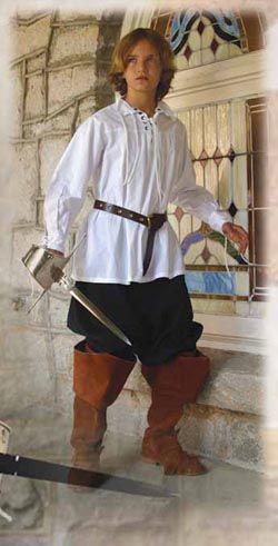 Theatre Costume For Halloween Renaissance Fair Tunic Small