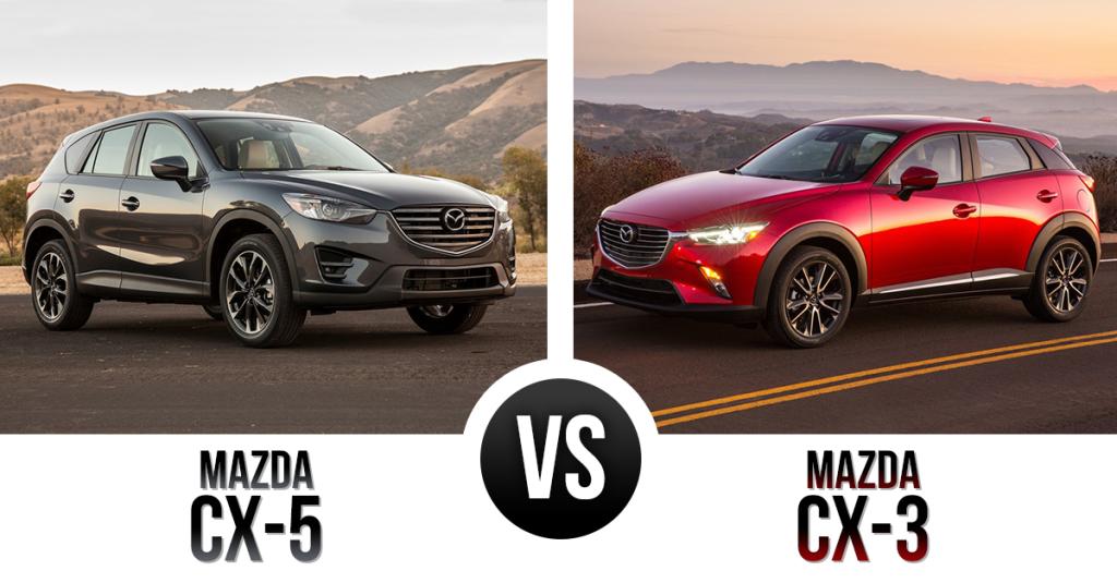 Mazda Compact Vs Subcompact Crossover Matchup Mazda Cx 5 Vs Mazda Cx 3 Subcompact Mazda Mazda Cx3