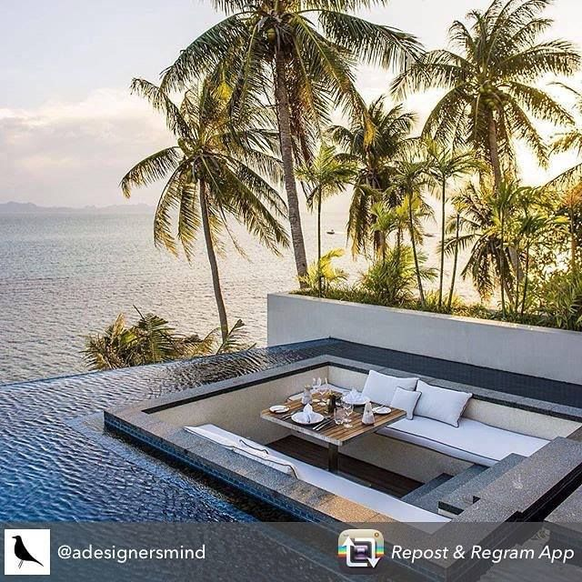 Shall we do breakfast here?! #keepdreaming