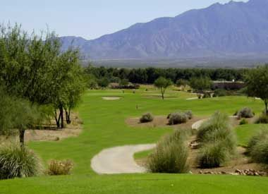Experience outstanding golf at reasonable prices. Sand traps, lakes, and undulating greens make Torres Blancas Golf Club in Green Valley a must!