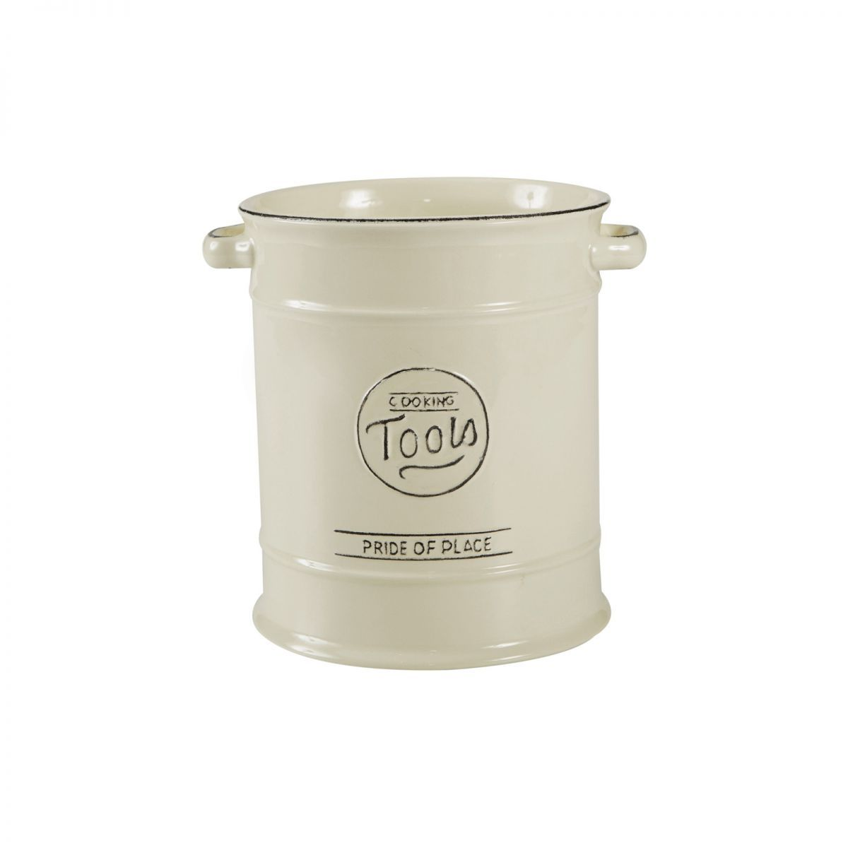 Cool Gray T/&G Woodware Pride of Place British Cooking Tools Jar