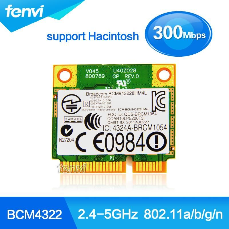Visit to Buy] Broadcom BCM4322 Wireless 802 11a/b/g/n Dual