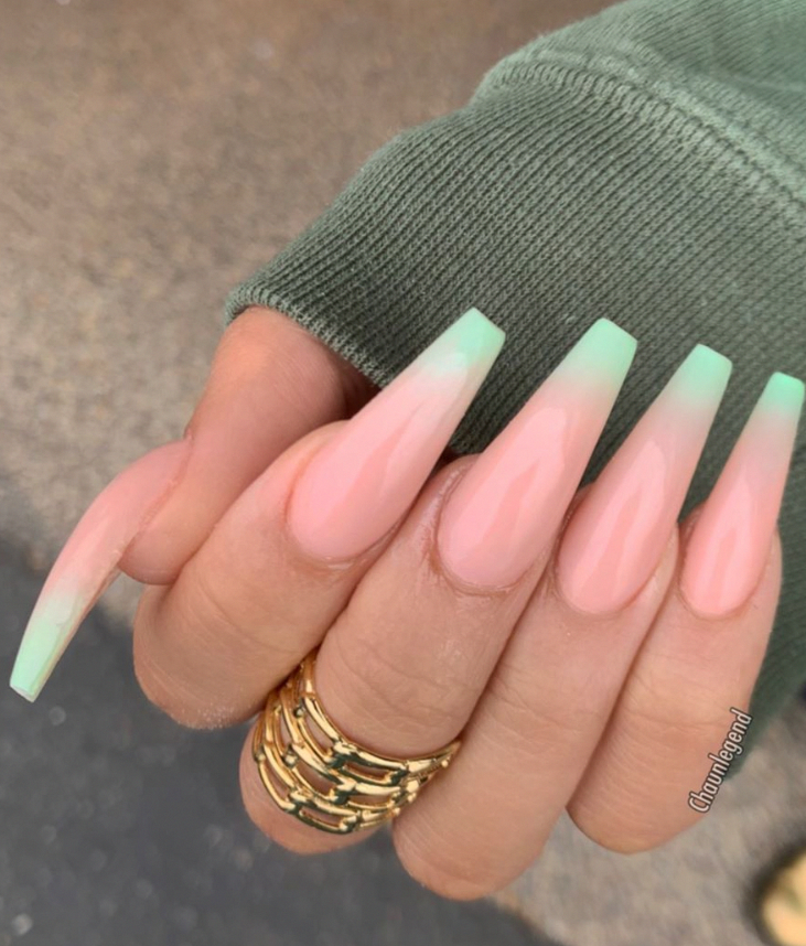 Coffin Nails Design Acrylic Coffin Nails Coffin Nail Designs Summer Long Coffin Nails Design Sum In 2020 Long Acrylic Nails Coffin Shape Nails Coffin Nails Designs