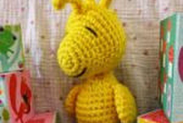 Snoopy Easy Amigurumi Pattern : Patron gratis woodstock patrones amigurumi and snoopy