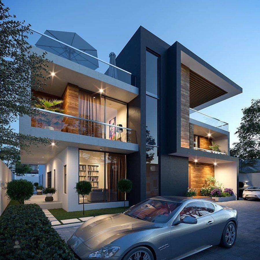 Rumah Minimalis Dengan Kaca Sudut - Denah Rumah