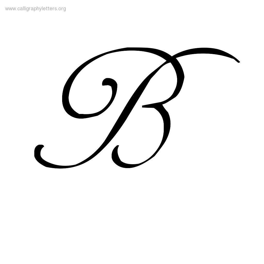 calligraphy lowercase b - 736×736