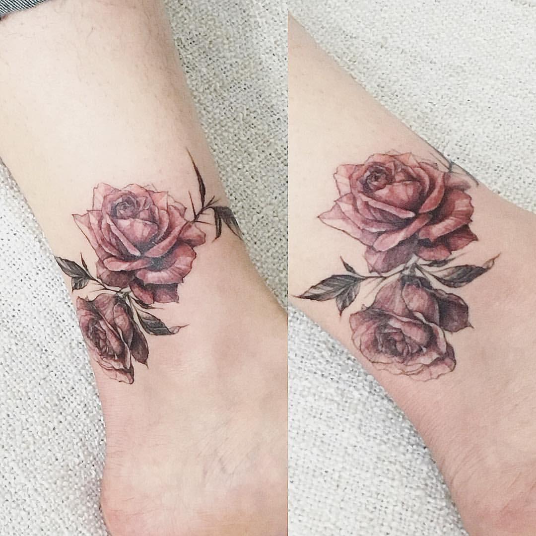 Pin De Marian Vazquez En Tatto Tatuajes De Rosas Tatuajes De