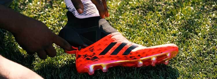 adidas Glitch soccer shoes, separate