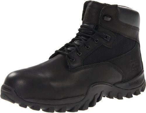 Timberland PRO Valor Men's McClellan 6-Inch Side-Zip Work Boot Timberland.  $105.99
