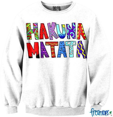 Hakuna Matata shirt from the freshtop store!
