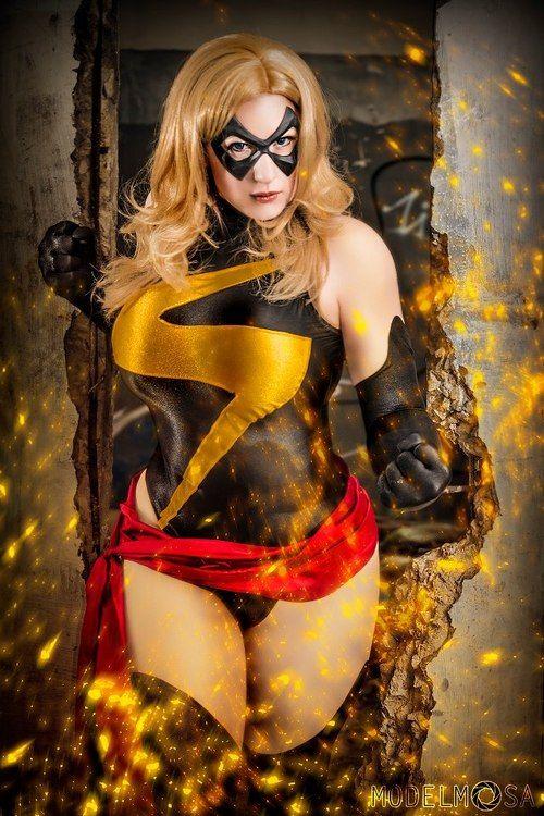 Turner D. Century, bellechere: Warbird Ms. Marvel costume made...