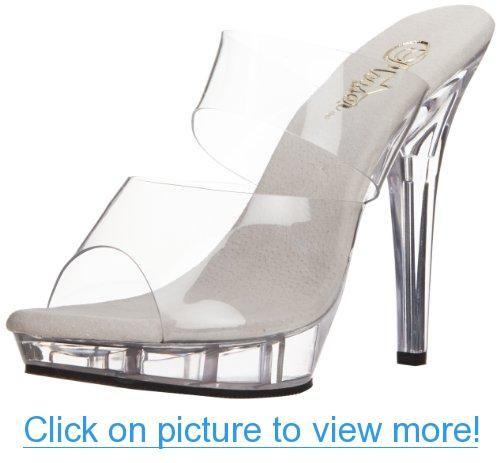Pleaser Women's Lip-102 Sandal