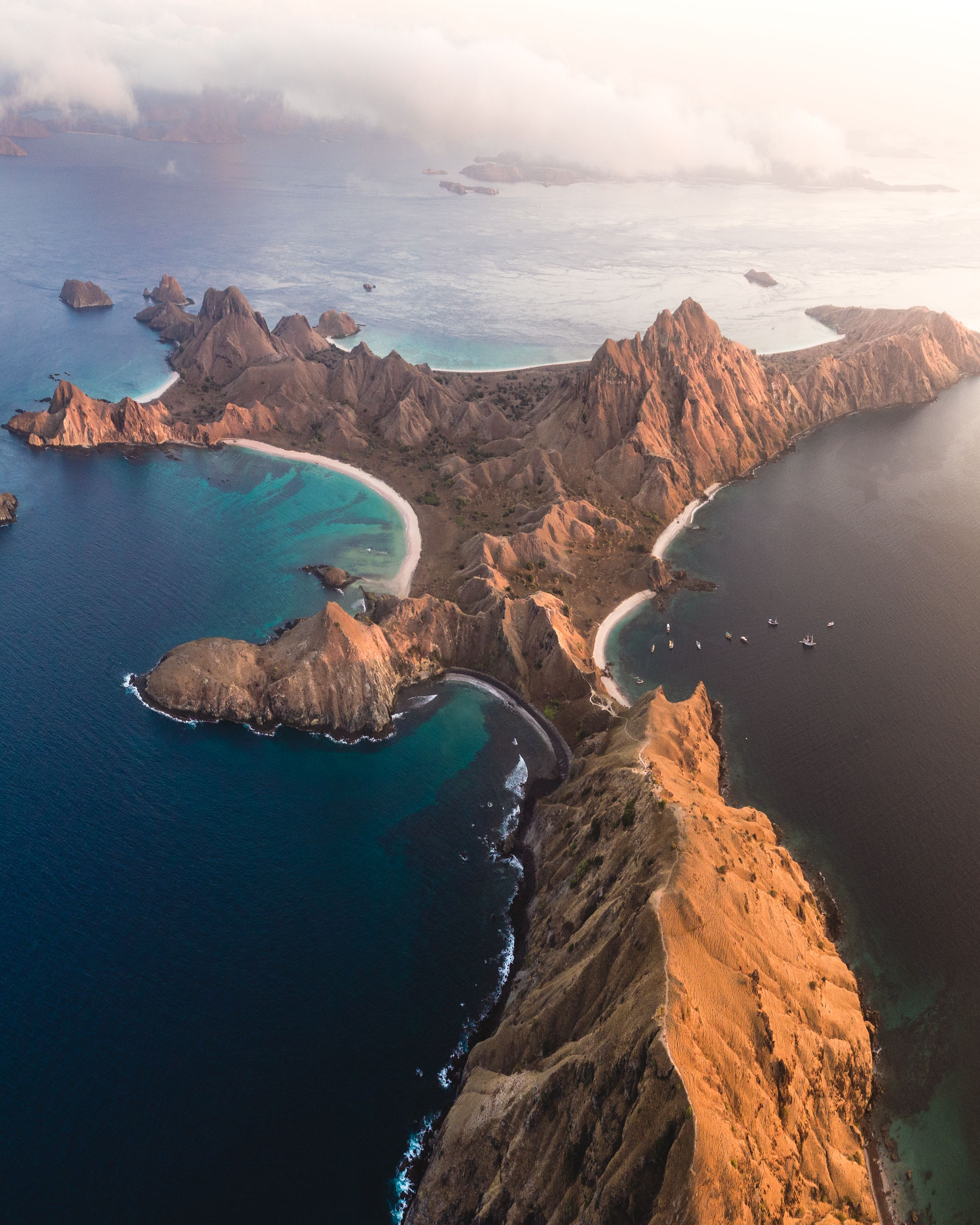 Empress Ii Komodo Diving Cruises Indonesia: Padar Island, Komodo National Park, Flores Island