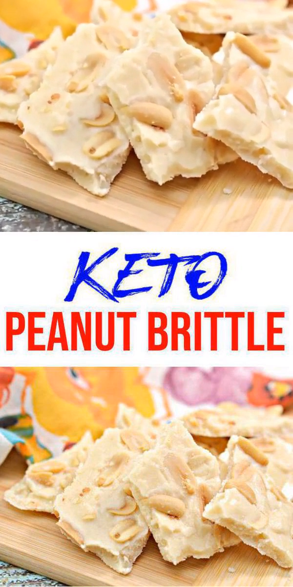 Keto Candy! BEST Low Carb Keto Peanut Brittle Idea – Quick & Easy Ketogenic Diet Recipe – Completely Keto Friendly – Gluten Free – Sugar Free #ketodesserts