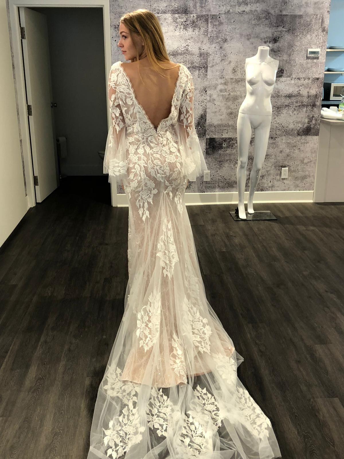 Mermaid sensual wedding gown sensual mermaid fullsleeve