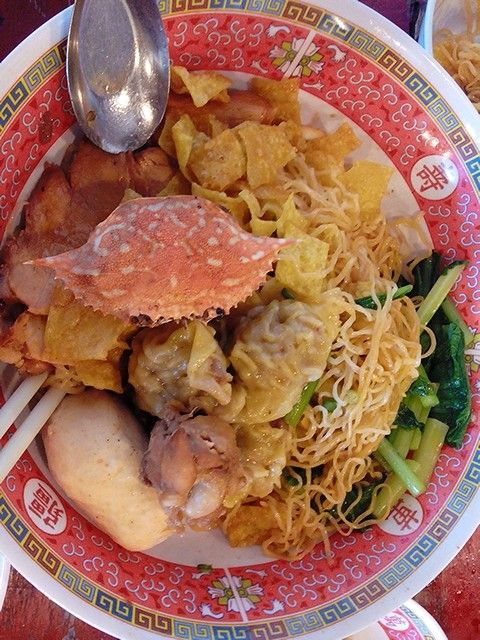 Superb chinese noodle in Thailand