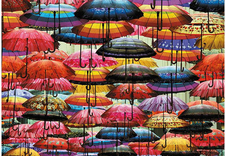Umbrellas 1,000Piece Puzzle Sponsored , sponsored,