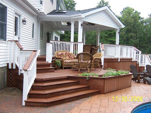 Deck 7 Decking, Yards and Backyard