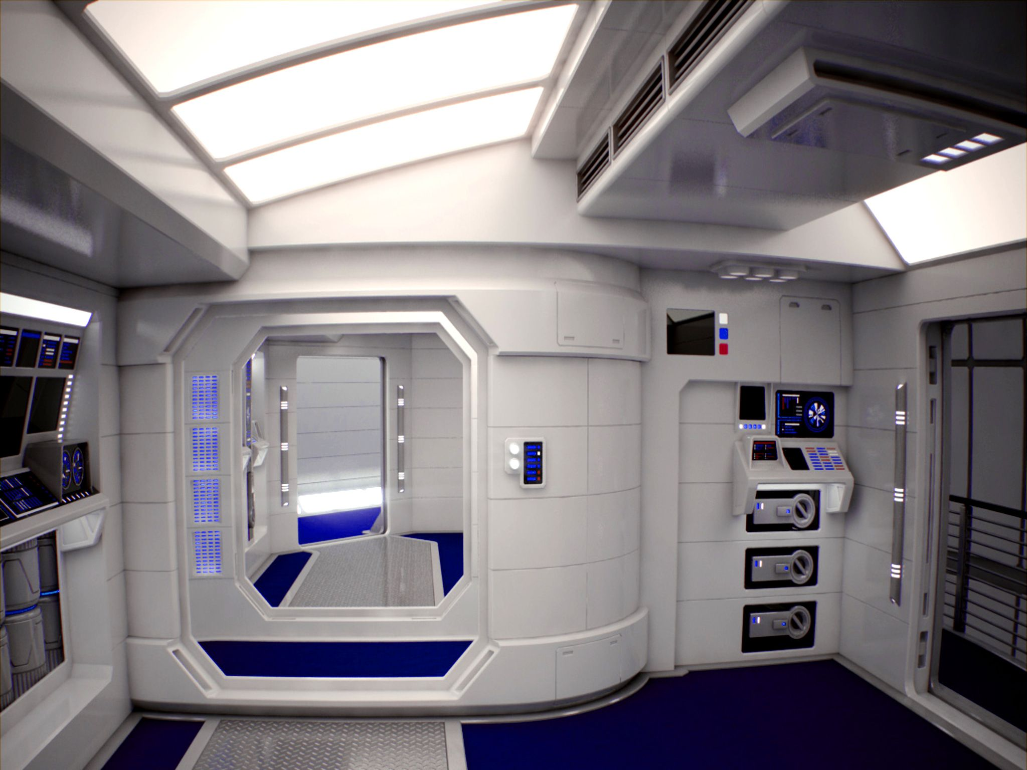 Modes For Living Self Made Furniture A Little Applied Diy Can Transform The Dowdiest Of Rooms Into An Opulent B Spaceship Interior Futuristic Interior Design