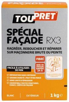 Enduit Special Facade En Poudre 1 Kg Enduit De Rebouchage Fibre Et Enduit