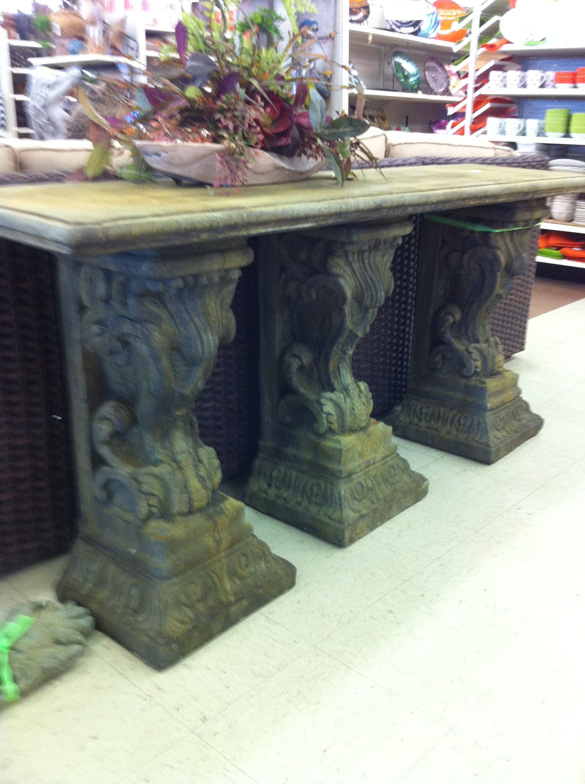 trees and trends furniture. Cast Stone Console From Historic Charleston Collection At Trees N Trends And Furniture T