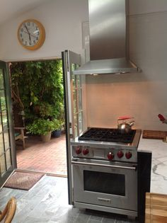 Oven And Stove At End Of Cabinet Run Google Search