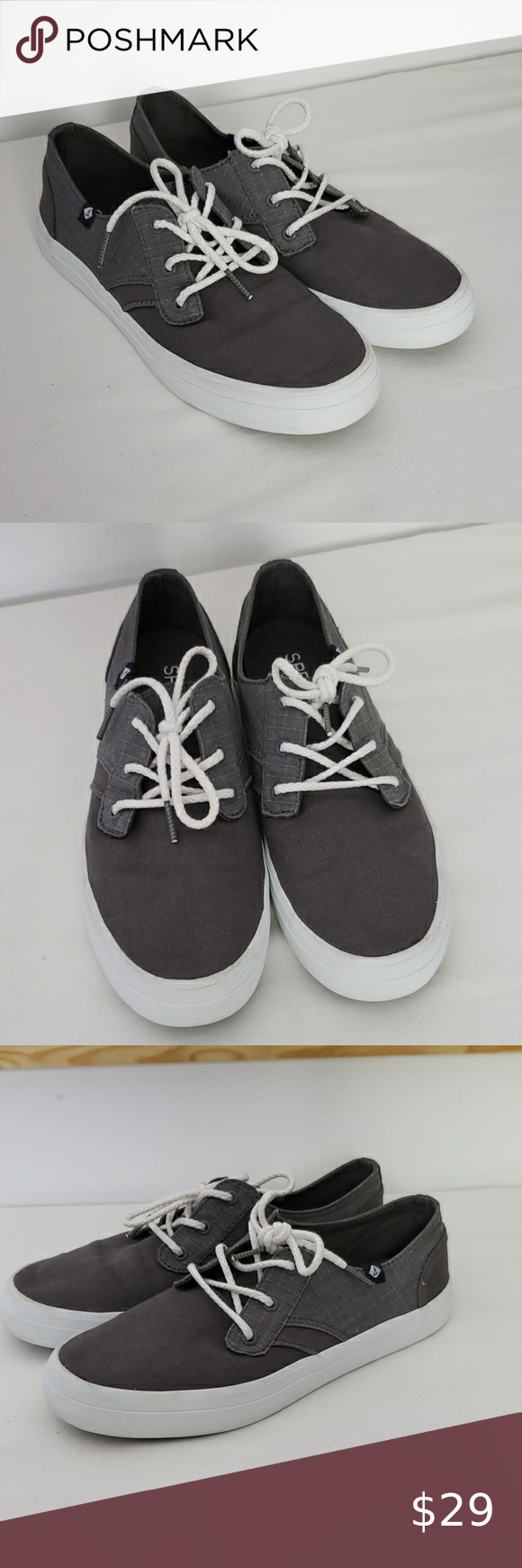 Sperry Top Sider Rider Canvas Lace Up