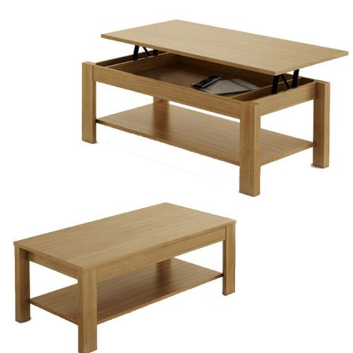 Table Basse Relevable Oralia En Differents Coloris Centros De Mesa Hogar Mesas