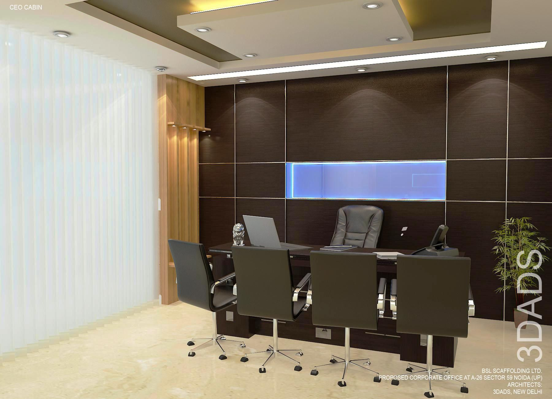 modern office md room interior design by 3da best office interior