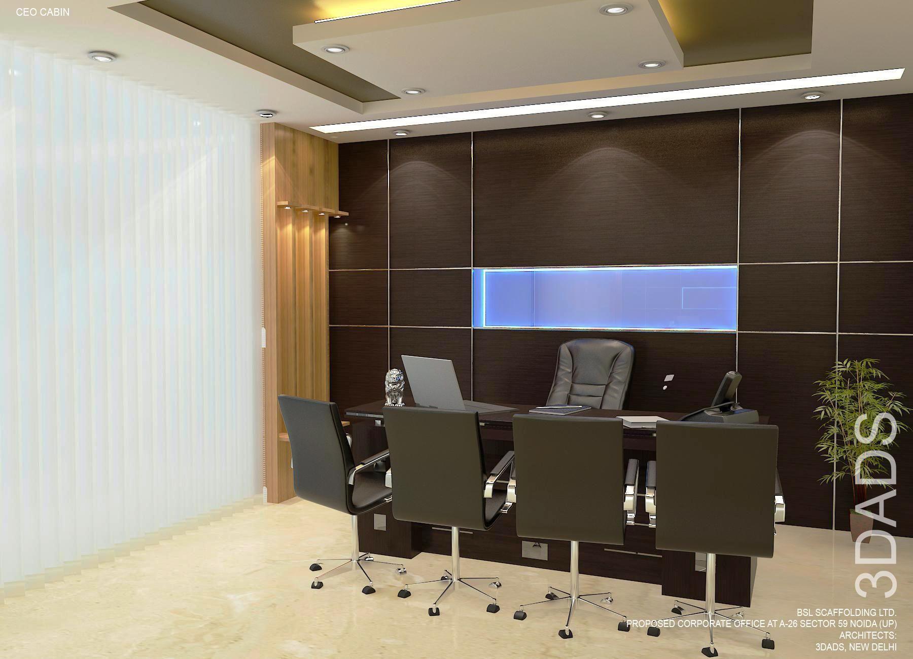 Modern Office Md Room Interior Design By 3da Best Office Interior