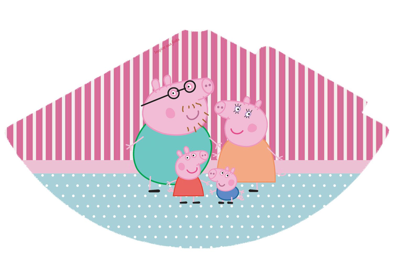 Kit Festa Gratis Para Imprimir Peppa Pig Inspire Sua Festa Kit