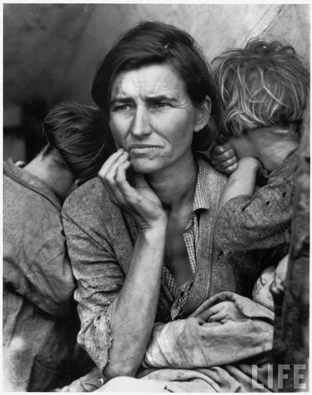 Resultado de imagen de dorothea lange fotos de guerra