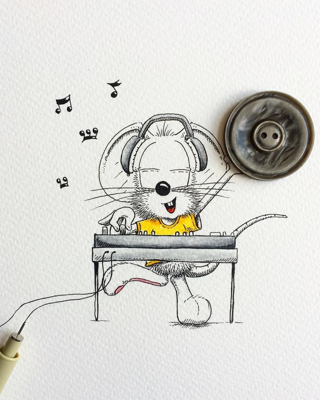 Pin by Mal Mac on Mouse | Cute drawings, Doodles, Drawings