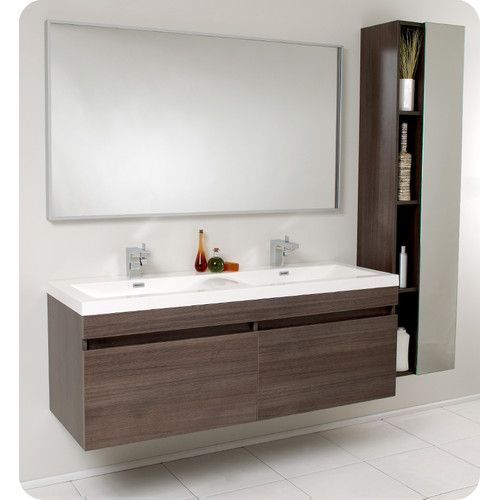 Resemblance Of Create Contemporary Look With Mid Century Modern - Mid century modern bathroom vanity ideas for bathroom decor ideas