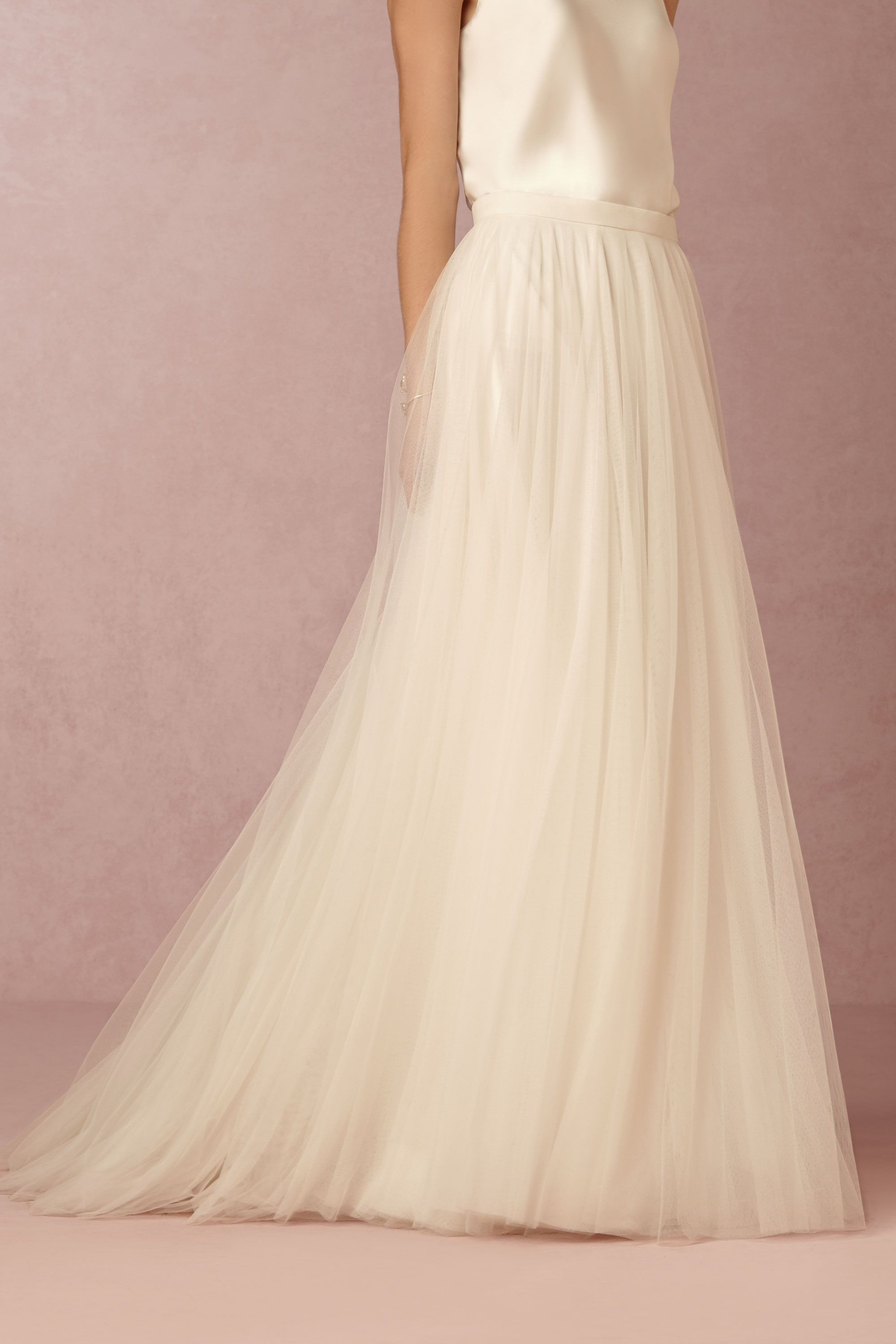 BHLDN Amora Skirt in Bride at BHLDN | Every Little Girl\'s Dream ...