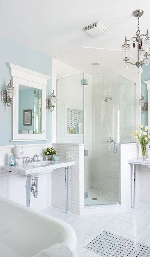 the classic white bathroom with images classic white on bathroom renovation ideas white id=31738