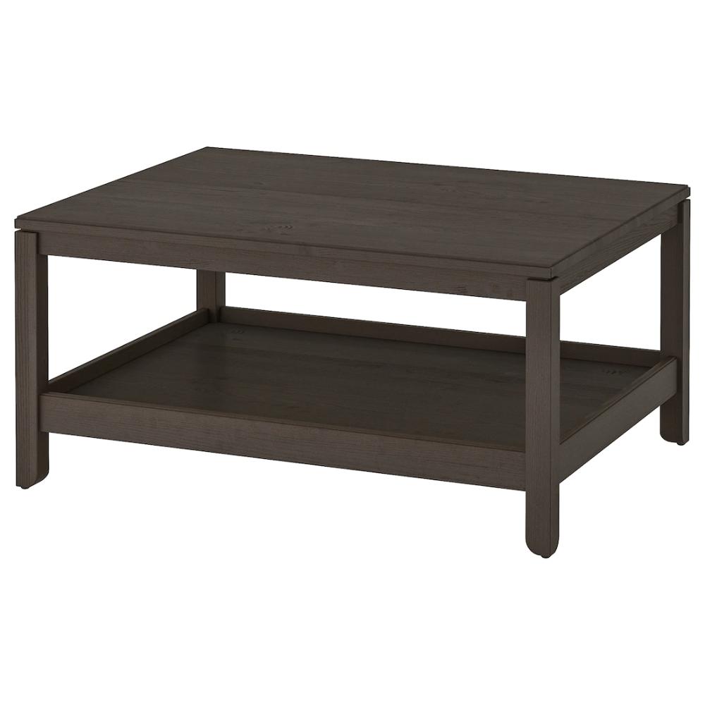 Havsta Coffee Table Dark Brown 39 3 8x29 1 2 100x75 Cm Coffee Table Brown Coffee Table Ikea