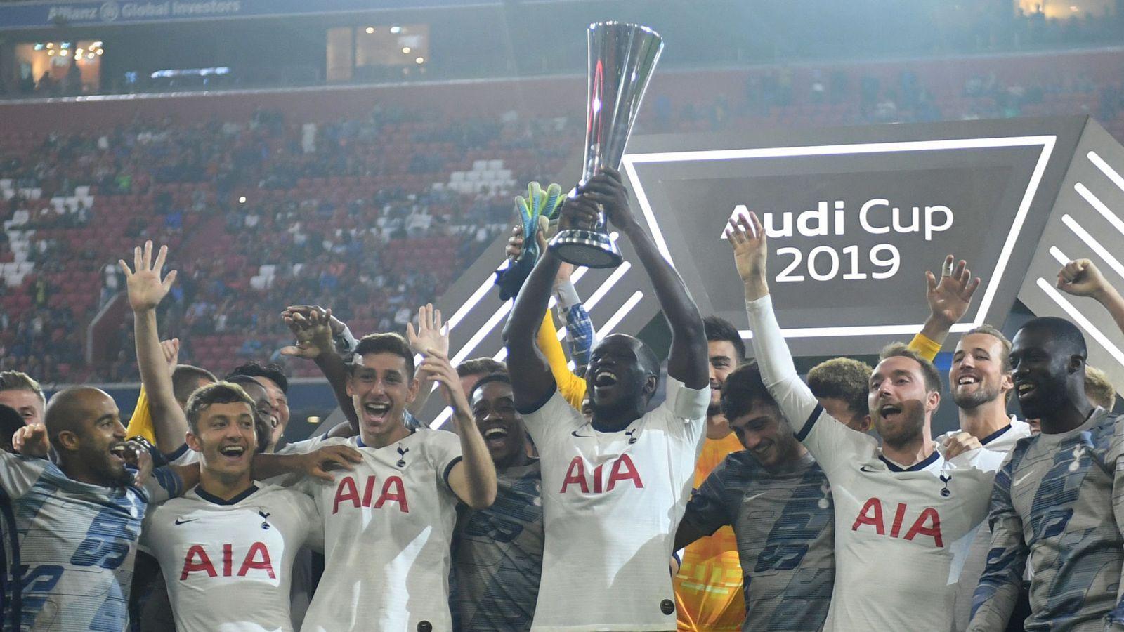 Bayern Munich 2 2 Tottenham 5 6 Pens Spurs Lift Audi Cup After Penalty Shootout Win Football News Sky Sports Bayern Tottenham Bayern Munich