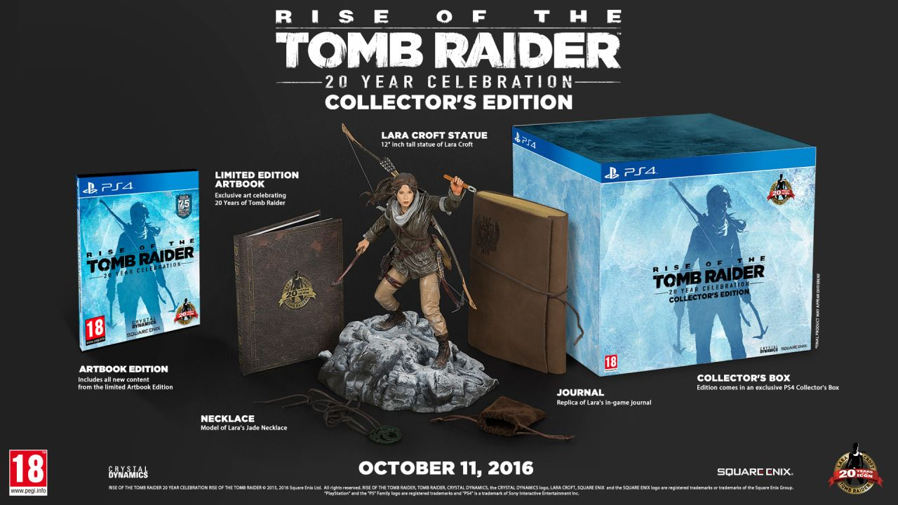 Rise Of Tomb Raider Collector S Edition Unboxing Part 2 Med Bilder